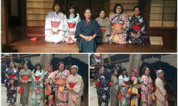 paket tour trip murah Jepang - mencoba kimono