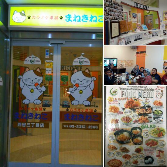 Halal food Tokyo - Manekineko shinjuku